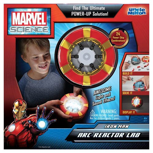 Marvel Science Iron Man Arc Reactor Lab