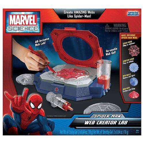 Marvel Science Spider-Man Web Creator Lab