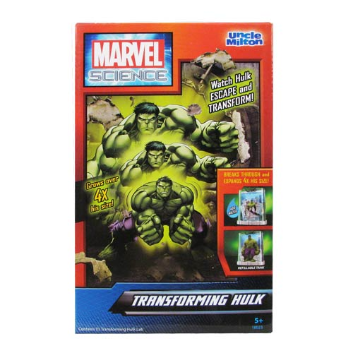 Hulk Marvel Science Transforming Hulk Playset