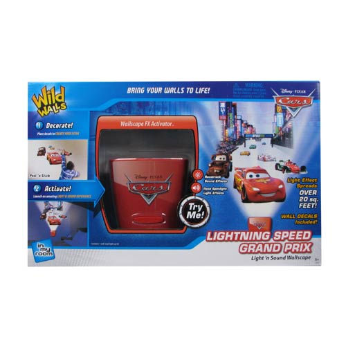 Cars Lightning Speed Grand Prix Night Light with Sound