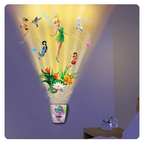 Peter Pan Garden of Fairy Friends Night Light w/ Sound