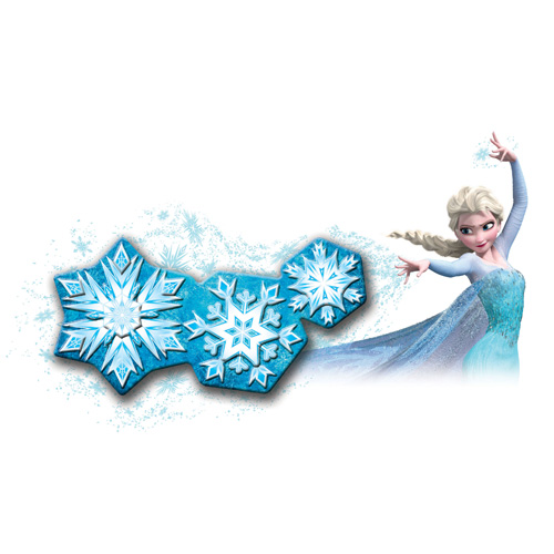 Frozen Snowflake Light Dance Room Light