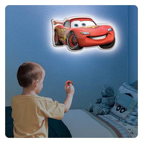 Cars Lightning McQueen Talking Room Light