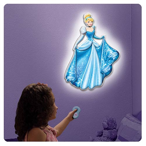 Cinderella Talking Room Light