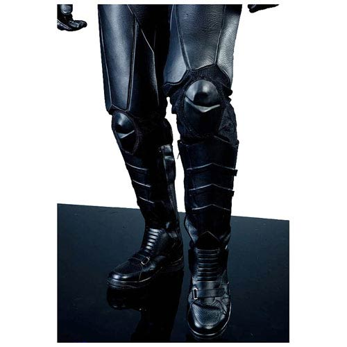 Batman Begins Leather Batsuit Replica Motorcycle Pants