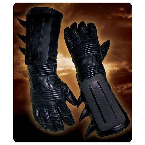 Batman Begins Leather Batsuit Replica Motorcycle Gloves ...