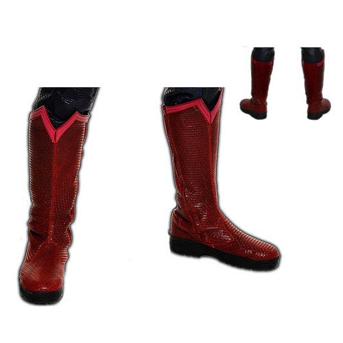 Superman Man of Steel Movie Leather Boots Prop Replica