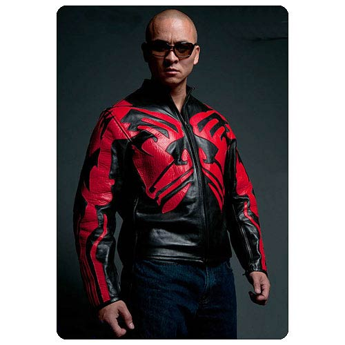 Star Wars Darth Maul Themed Leather Cafe Racer Jacket