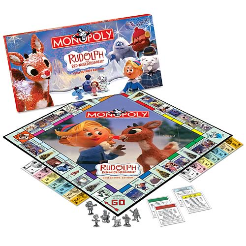 Rudolph the Red-Nosed Reindeer Monopoly