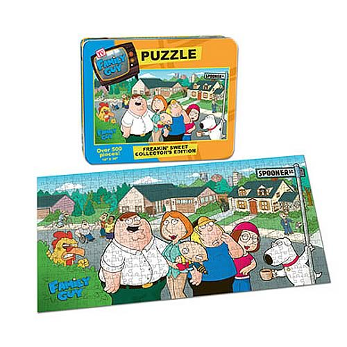 Family Guy Puzzle, Not Mint