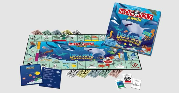 Deep Sea Monopoly Jr.