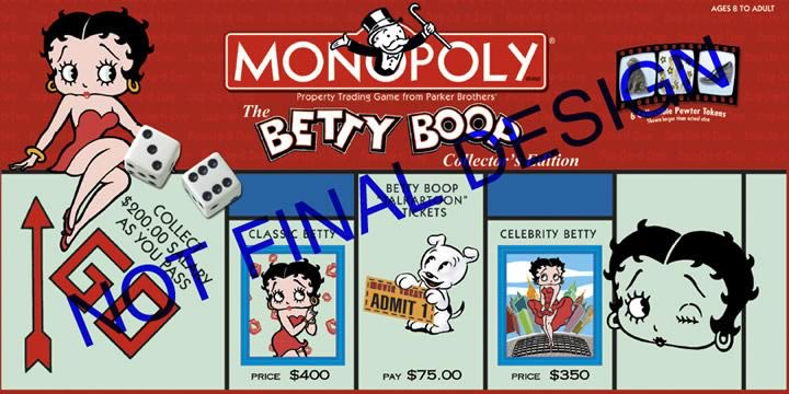 Betty Boop Monopoly