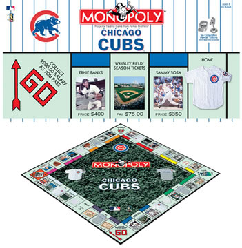 Chicago Cubs Monopoly