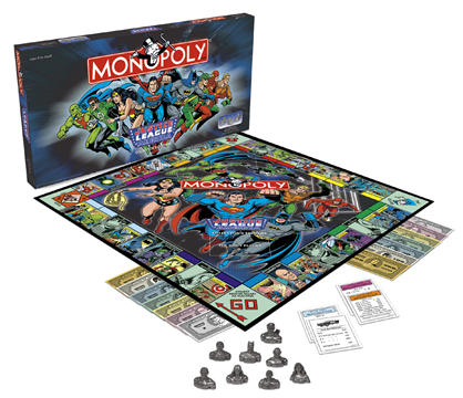 Justice League Monopoly