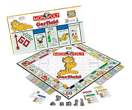 Garfield 25th Anniversary Monopoly
