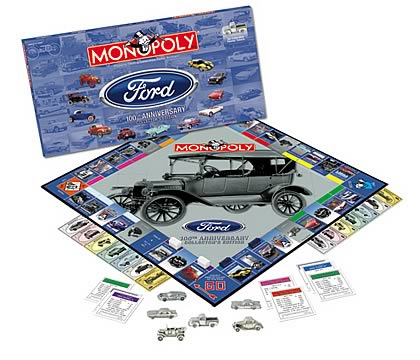 Ford 100th Anniv. Monopoly