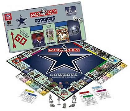 Dallas Cowboys Monopoly