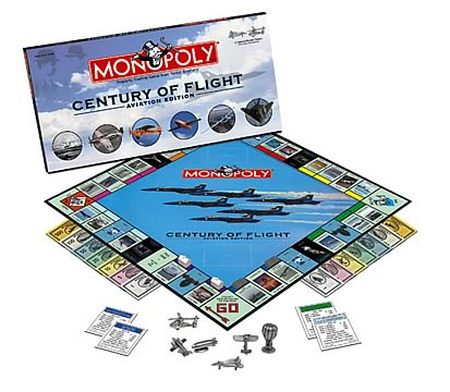 Aviation 100th Anniversary Monopoly
