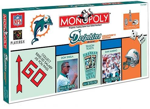Miami Dolphins Monopoly
