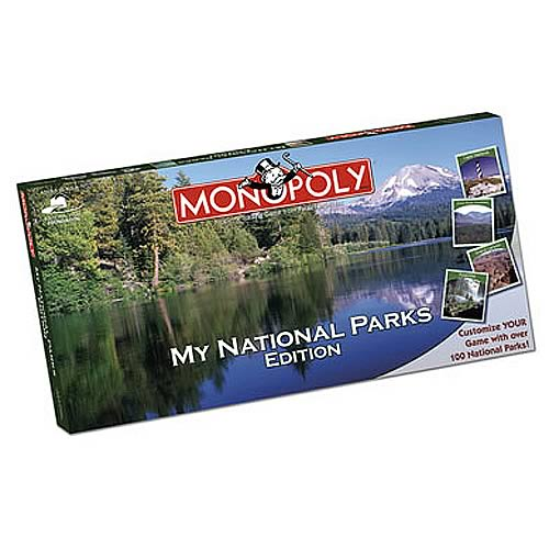 My National Parks Edition Monopoly
