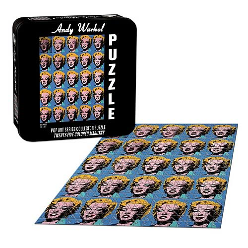 Andy Warhol 25 Marilyns Puzzle