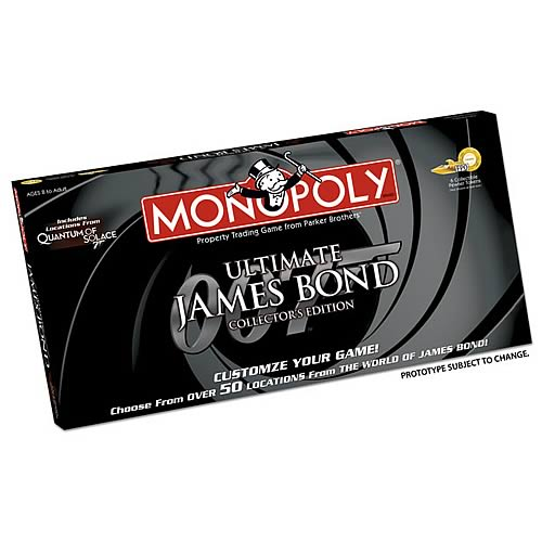 James Bond Ultimate Collectors Edition Monopoly