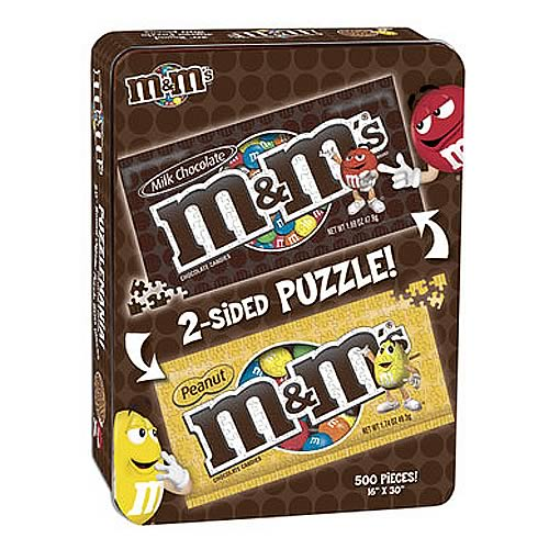 M&Ms DoubleSided Puzzle