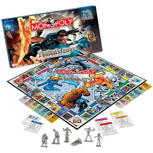 Fantastic Four Edition Monopoly