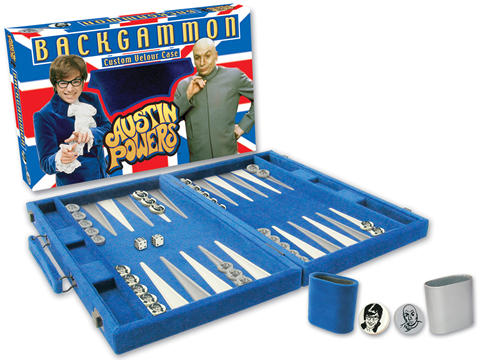 Austin Powers Backgammon