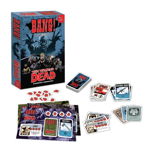 The Walking Dead Comic Book Bang! Game