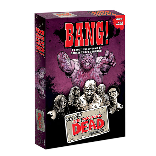 The Walking Dead Comic Book Bang! Card Game Expansion