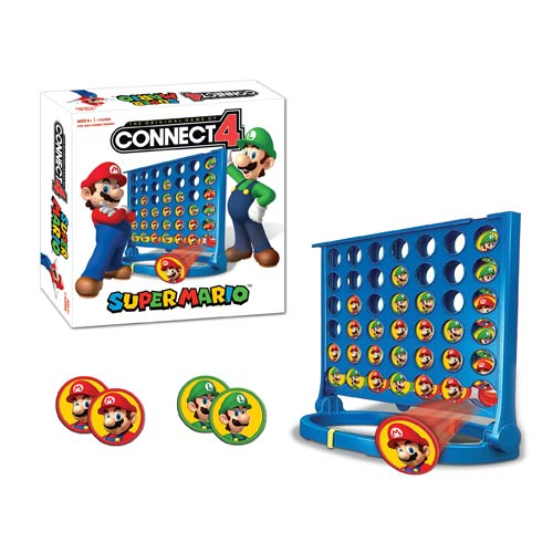Super Mario Connect 4 Game
