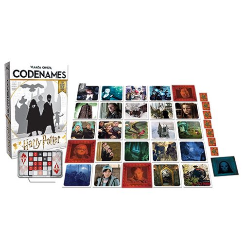 Codenames Harry Potter Game