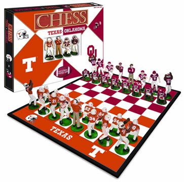 Longhorns vs. Sooners Chess