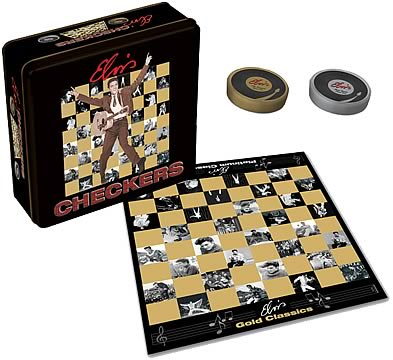 Elvis Presley Checkers