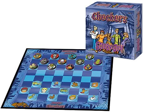 Scooby-Doo Checkers