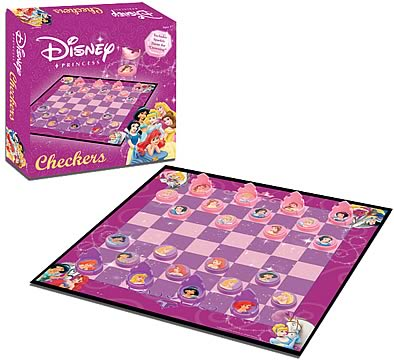 Disney Princess Checkers