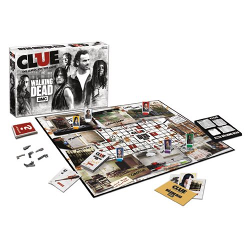 The Walking Dead AMC TV Show Clue Game