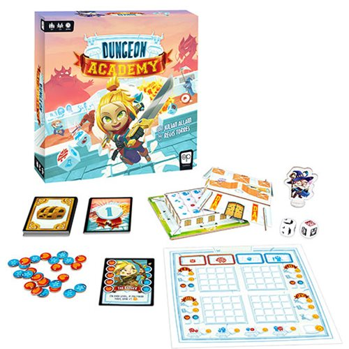 Dungeon Academy Game