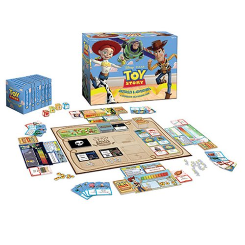 Toy Story Obstacles and Adventures: A Cooperative Deck-Building Game
