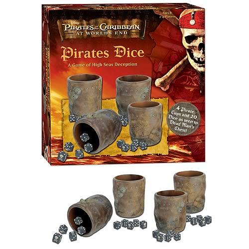 Pirates of the Caribbean 3 Dice