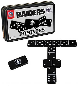 Oakland Raiders Dominoes