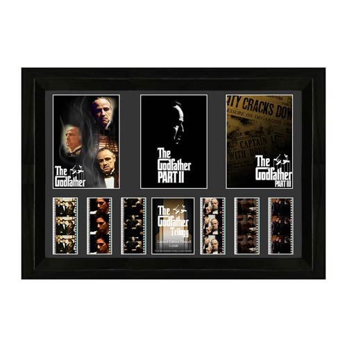 Godfather Movie Trilogy Triple Film Cell