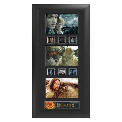 Lord of the Rings Return of the King Series 1 Trio Film Cell