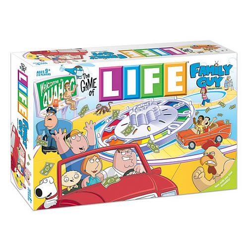 The Game of Life Family Guy Edition