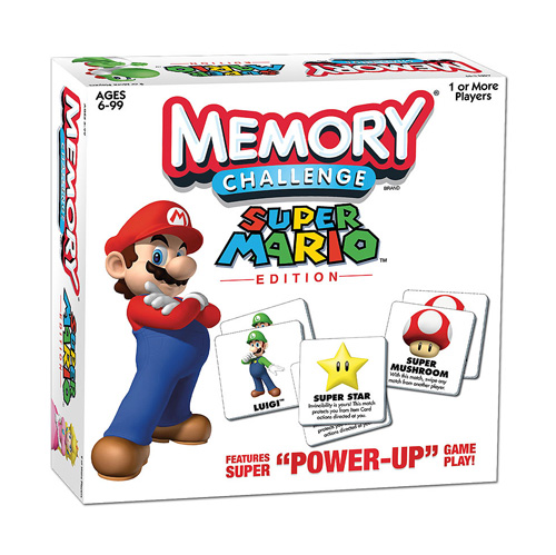 Super Mario Edition Memory Challenge Game