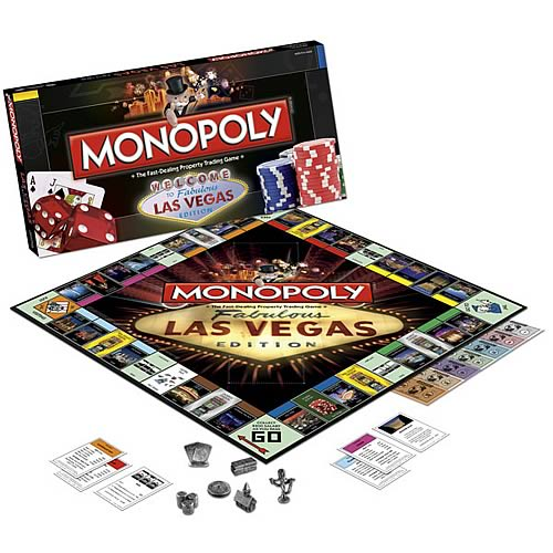 Las Vegas Edition Monopoly Game