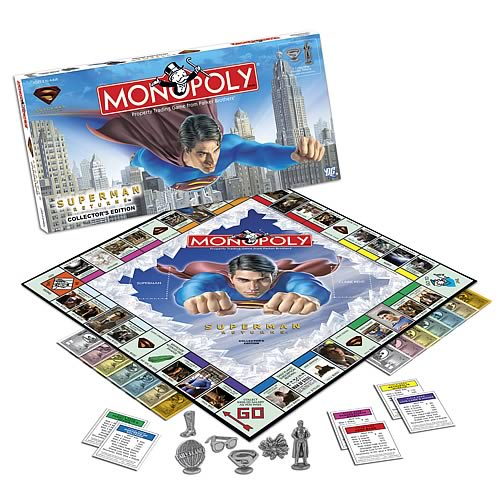 Superman Returns Collector's Edition Monopoly
