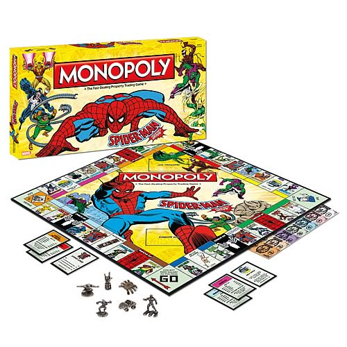 Spider-Man Collector's Edition Monopoly Board Game