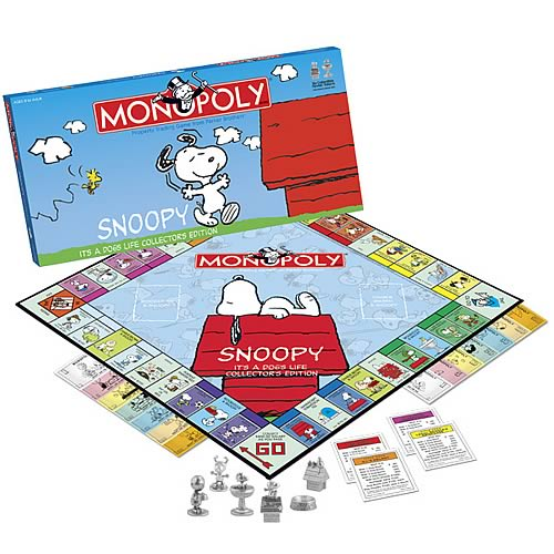 Snoopy It's a Dog's Life Collector's Edition Monopoly